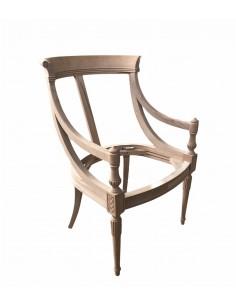 Esqueleto sillón madera maciza