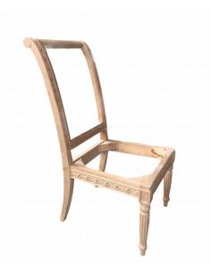 Esqueleto silla madera maciza